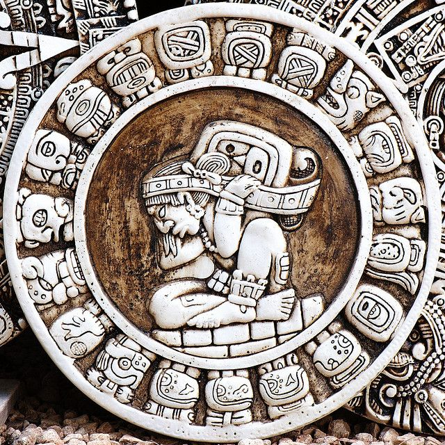 Mayan Zodiac Circle by theilr, via Flickr