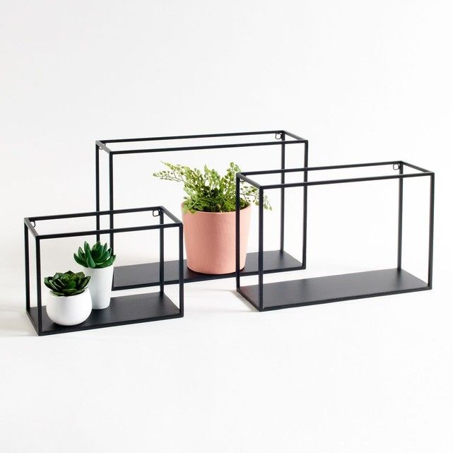 les 25 meilleures id es de la cat gorie etagere murale metal sur pinterest etagere en metal. Black Bedroom Furniture Sets. Home Design Ideas