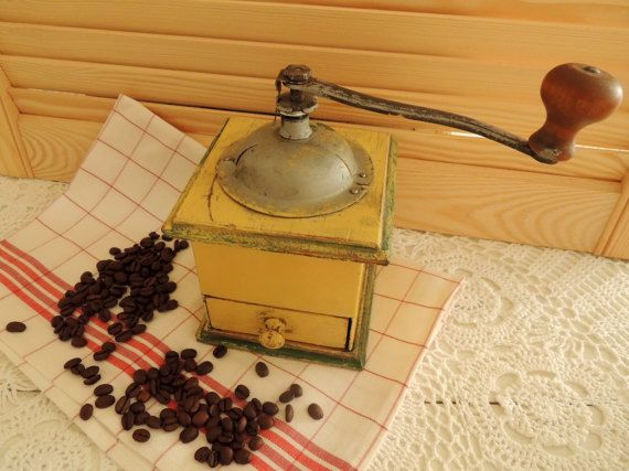 Coffee Grinder, Rare Coffee Mill, Swedish Scandinavian Vintage, Vintage Home Kitchen Country Old Cottage Village Farmhouse Decor, Collection