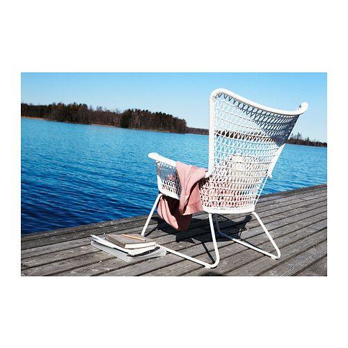 Fauteuil Högsten | Wit kunststof | € 99,95 | Ikea