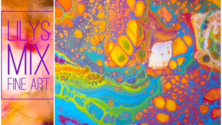 220 Best Images About Pouring Paint On Pinterest