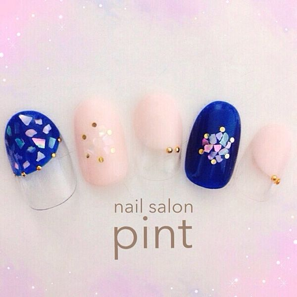 shell in nail