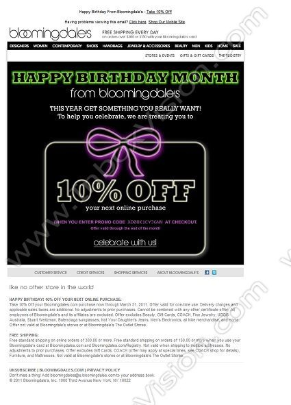 30 best Email Design Birthday Messages images on Pinterest - sample happy birthday email