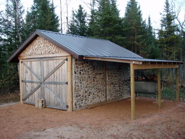 example of lean to for garage a home for the camper