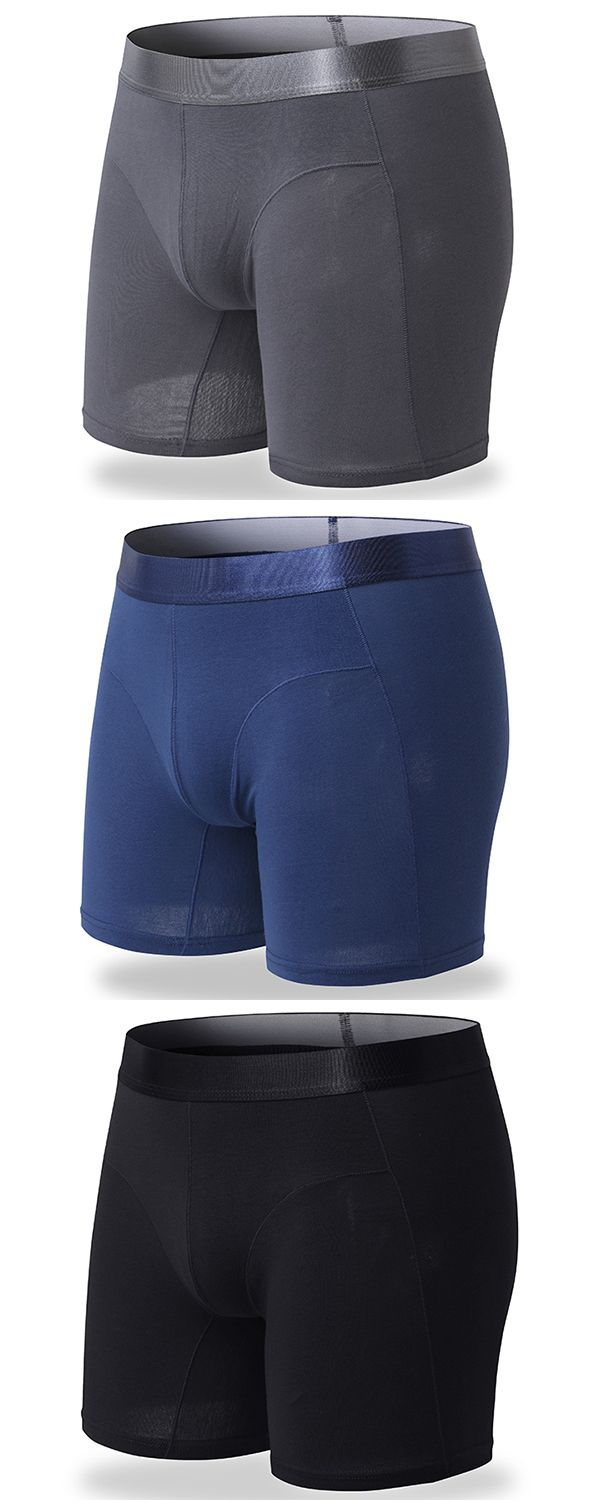 Casual Sport Boxer Briefs for Men: Breathable / Antiwear