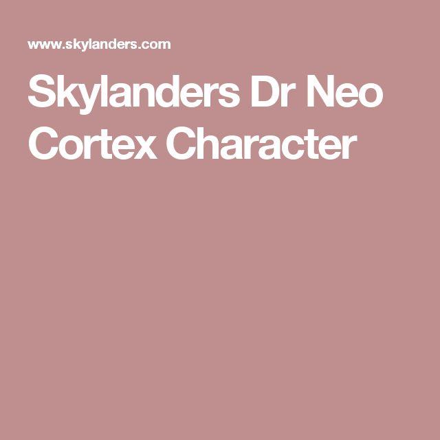 Skylanders Dr Neo Cortex Character