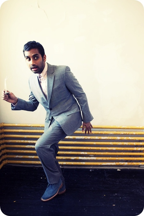 Aziz Ansari is so funny.