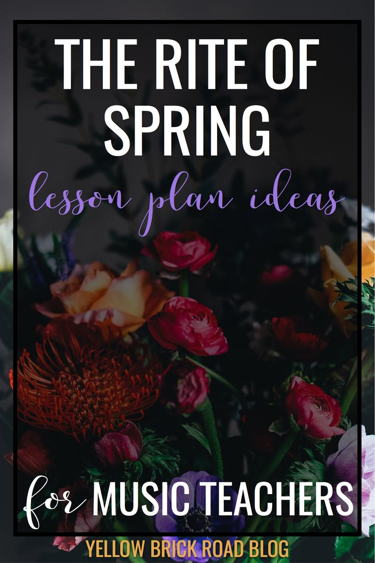 Awesome lesson ideas to teach syncopation. This would be a great way to incorporate art/classical music in the classroom with The Rite of Spring.