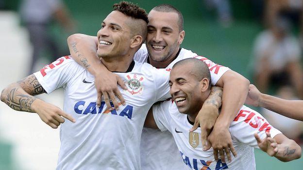 Con gol de Paolo Guerrero: Corinthians venció 2-0 a Bahía. #depor