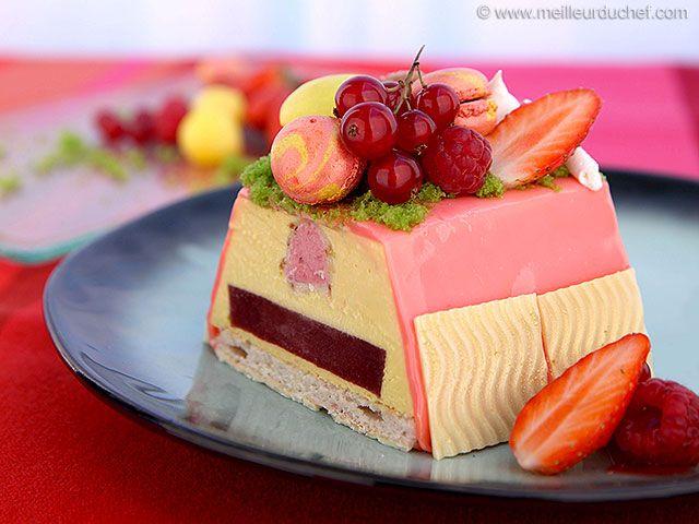 Fruit Birthday Cake - Meilleur du Chef