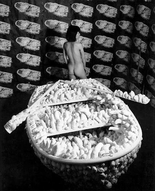 Искусство США 60-х. Искусство хиппи. Яёи Кусама. Фото