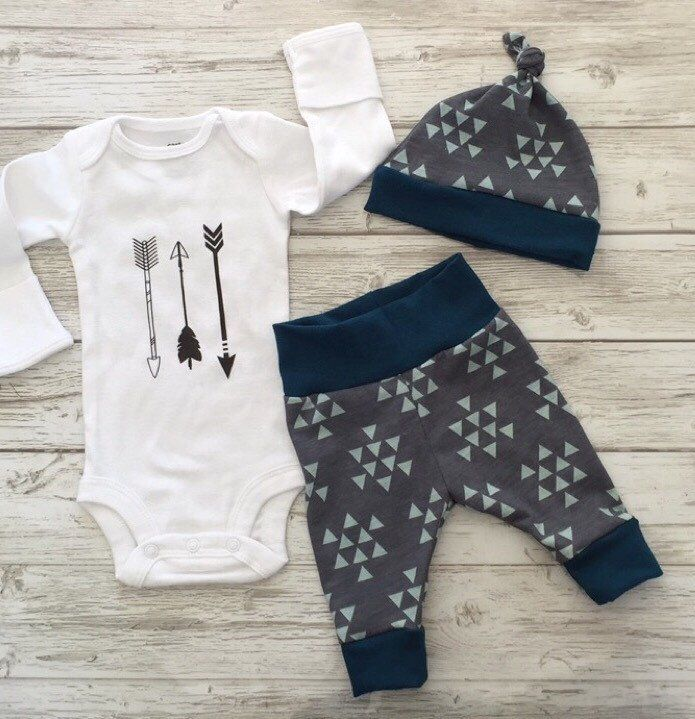 A personal favorite from my Etsy shop https://www.etsy.com/ca/listing/398485513/newborn-baby-coming-home-outfit-baby