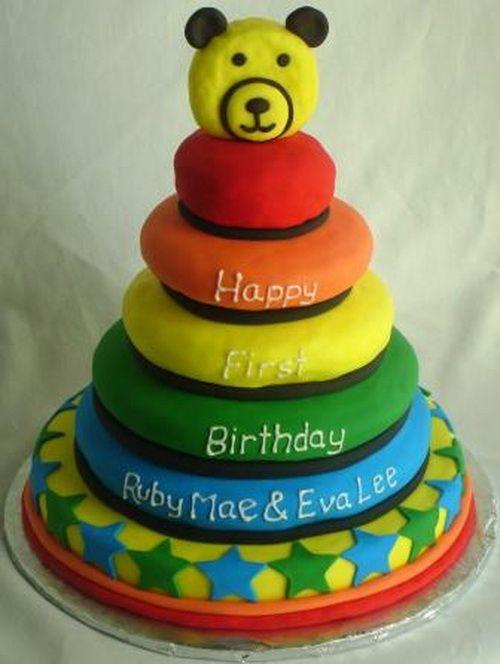 Birthday Cakes Rainbow Ideas