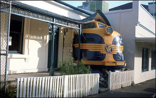 Victorian Railways, Train Crash, Melbourne 1988