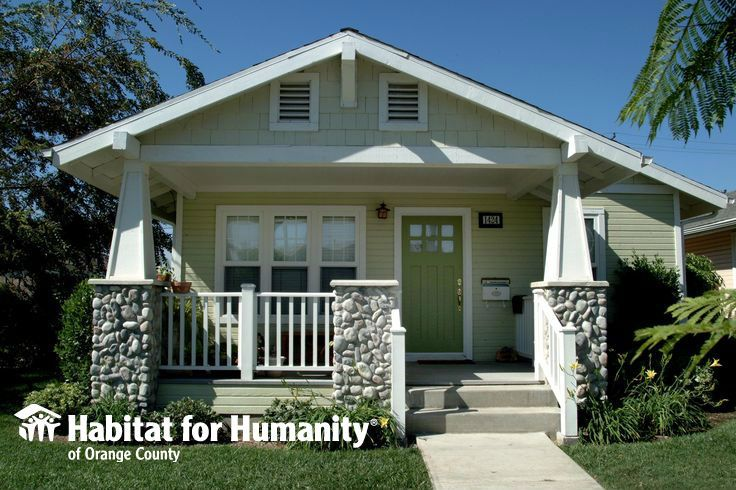 Habitat For Humanity Of Orange County Home Built And Sold To A Family In Santa