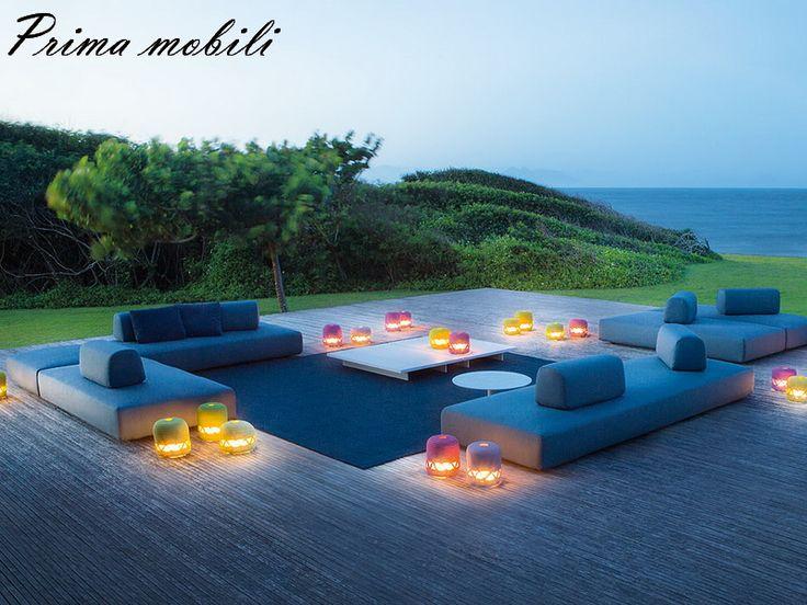 Итальянский диван для улицы Orlando Paola Lenti купить в Москве в Prima mobili