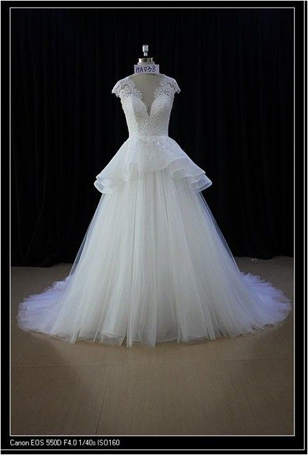 25 cute peplum wedding dress ideas on pinterest peplum style style ha038 peplum wedding dress with cap sleeves junglespirit Choice Image