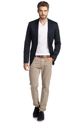Esprit : Veste en coton/Lycra® - Mode homme - Men fashion