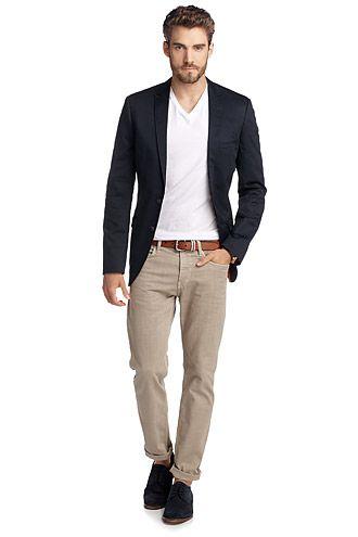 Esprit : Veste en coton/Lycra® - Mode homme - Men fashion