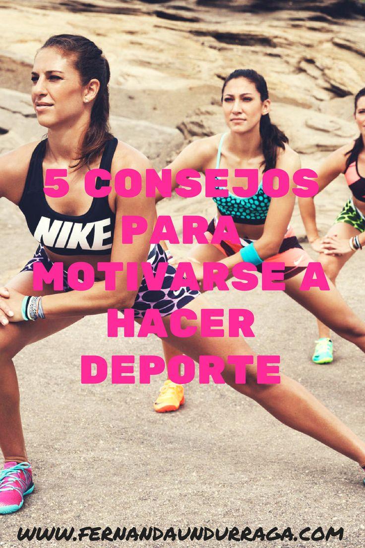 5 consejos para motivarse a hacer deporte