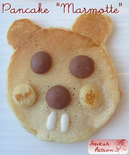 groundhog pancake marmotte
