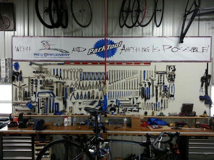 My Dream Tool Bench Bicycle Stuff Bike Storage Garage