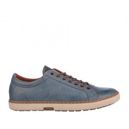 Pantofi casual Gryxx albastri, din piele naturala