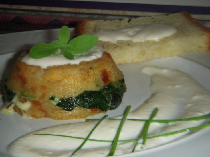 Tortino di pane :ho partecipato alla seconda edizione del corso di cucina vegetariana a cura dello chef naturista bio ANTONIO SCACCIO