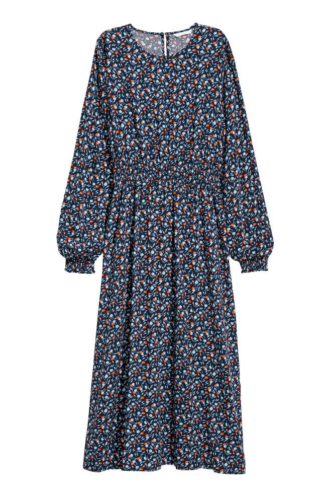 880ec0c0 Långärmad klänning | Våren 2018 | Klänningar, Kjol och Mörkblå