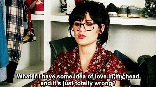 Every time you reject someone: | The 27 Most Relatable Jessica Day Quotes