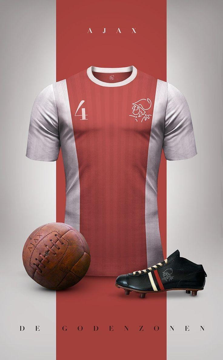 Ajax Amsterdam Vintage Football Shirts Retro Football Vintage Football