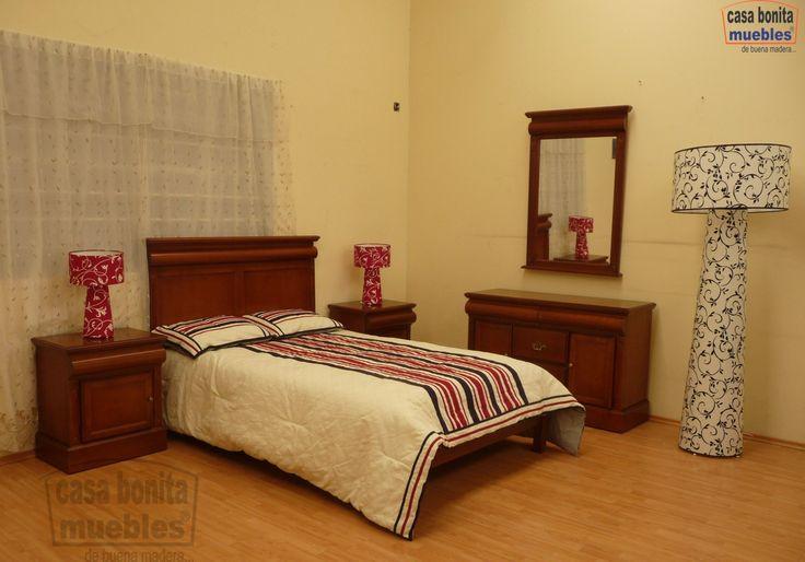 Recamara Matrimonial  Casa Bonita Muebles  Pinterest  King and