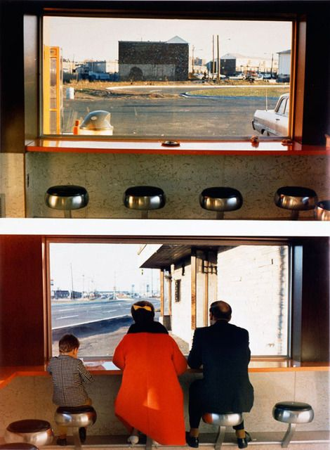 noxe: Dan Graham, 'View Interior, New Highway Restaurant, Jersey City, N.J.,' 1967