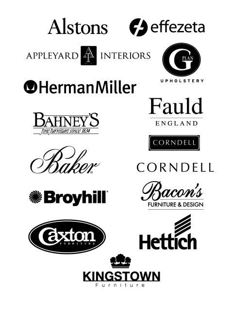 Free Logo Vector Brands Alstons Effezeta Appleyard Interiors Gplan Upholtery Herman Miller
