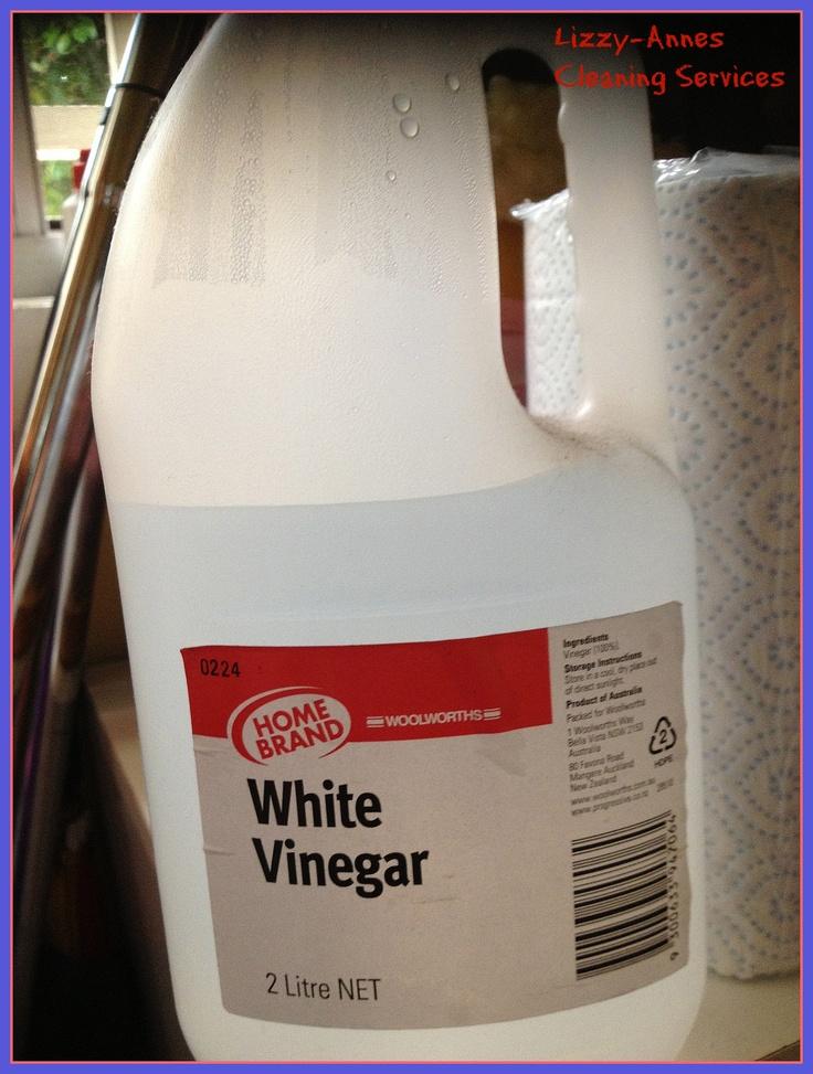 how to make white vinegar cleaner