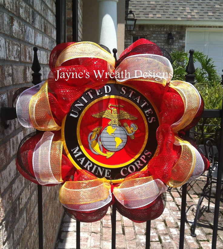 US Marine Corp Wreath