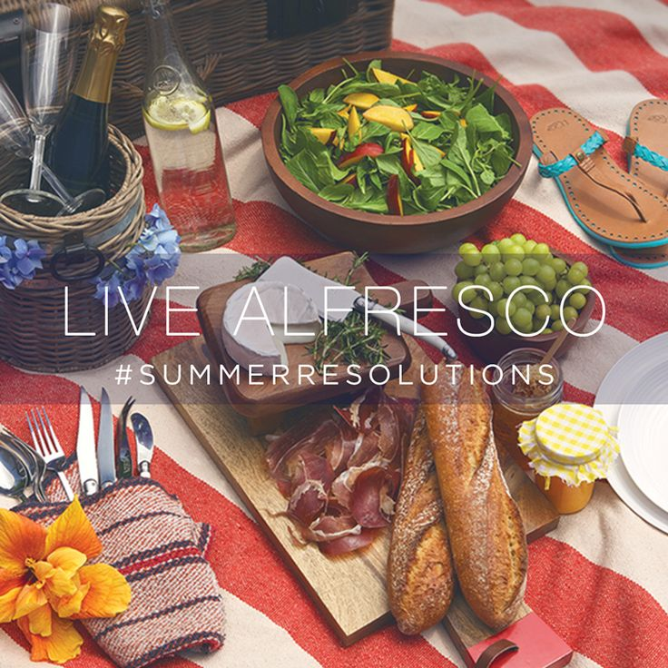 This summer, spend more time outside. #LiveAlfresco #SummerResolutionsSummer Resolutions, This Summer, Carpe Summer, Livealfresco Summerresolut