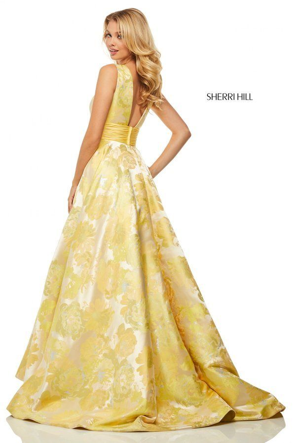ddcb831eaef1 Sherri Hill Style 52899 | Spring 2019 Prom Dresses and Social Occasion  Dresses in 2019 | Prom dresses, Dresses, Sherri hill prom dresses