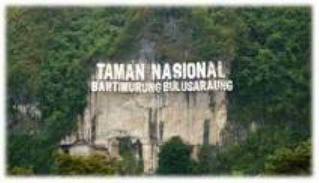 Taman Nasional Bantimurung Bulusaraung di Maros, Sulawesi Selatan