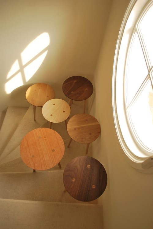 Convex side tables (small)