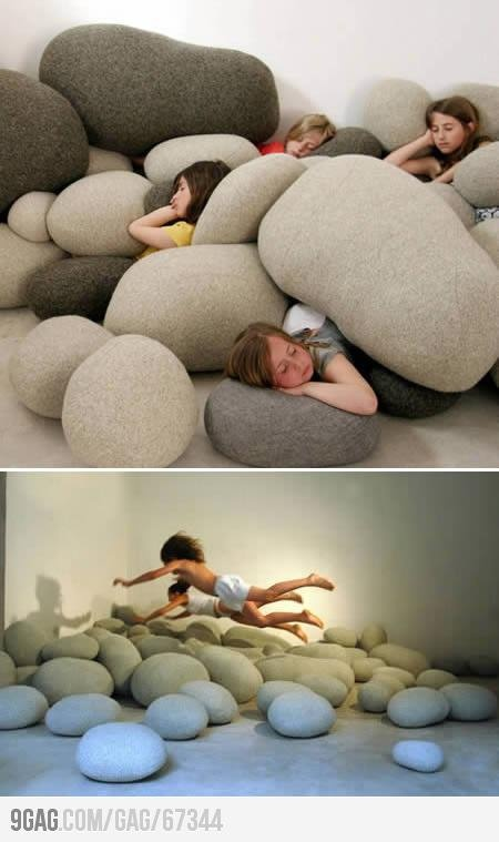 Stone pilows...ummm basically I want these do much