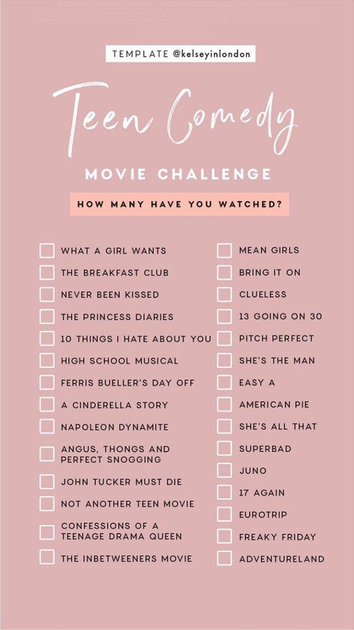 Movie Challenge With Friends Movie Friends Challenge Movie Movie To Watch List Netflix Movies To Watch Netflix Movies