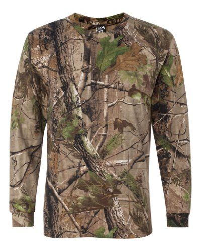 Cheap Camo helps you to beat the chill in long-sleeve warmth, softened in