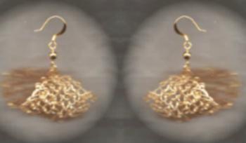 Knitting Earrings – Patterns: http://knitting.myfavoritecraft.org/cute-knitting-ideas-patterns/knitting-earrings/