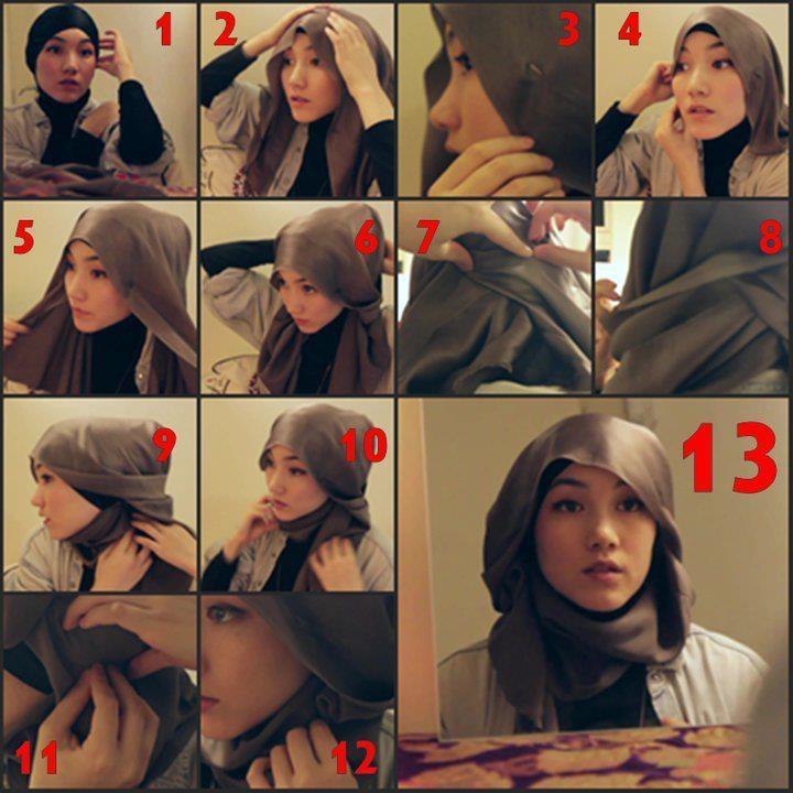hana tajima !    dari semua gaya hijab , aku paling suka dengan gaya yang satu ini ..  so cute lah ..