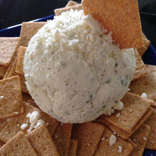 ... Feta Cheese Ball ** | Dip | Pinterest | Cheese Ball, Feta and Cheese