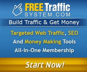 Over 89,000 Internet Entrepreneurs From All Over The World Joined Free Traffic System To Get Targeted Traffic For Their Sites, Blogs And Affiliate Web Pages. Established On The Market Since 2008.   http://newmarketingcash.com/free-traffic-system-scam