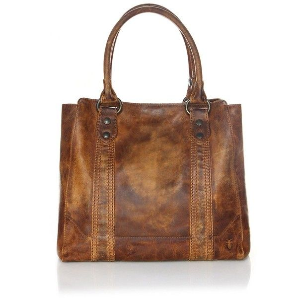 Frye Melissa Leather Tote (1.290 BRL) ❤ liked on Polyvore featuring bags, handbags, tote bags, brown leather tote, brown leather handbags, purse tote, leather totes and handbag purse