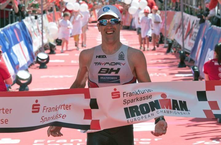 El vitoriano Eneko Llanos, ganador del Ironman de Fráncfort - RTVE.es Nos inspira! #ironman #triatlon