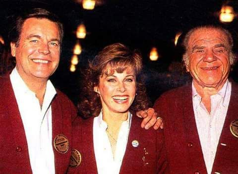 """Robert Wagner, Stefanie Powers and Lionel Stander.  Loved this dynamic """"Hart To Hart"""" trio.  What a great team they made!  <3"""